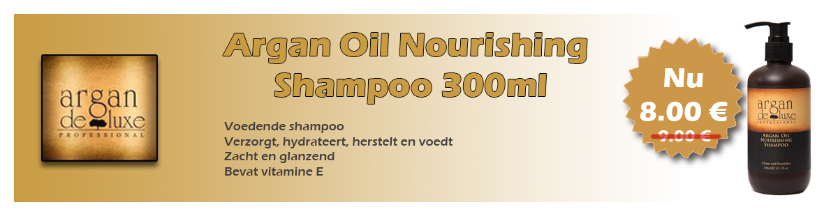 Argan Oil Nourishing Shampoo 300ml nu voor 8.00eur